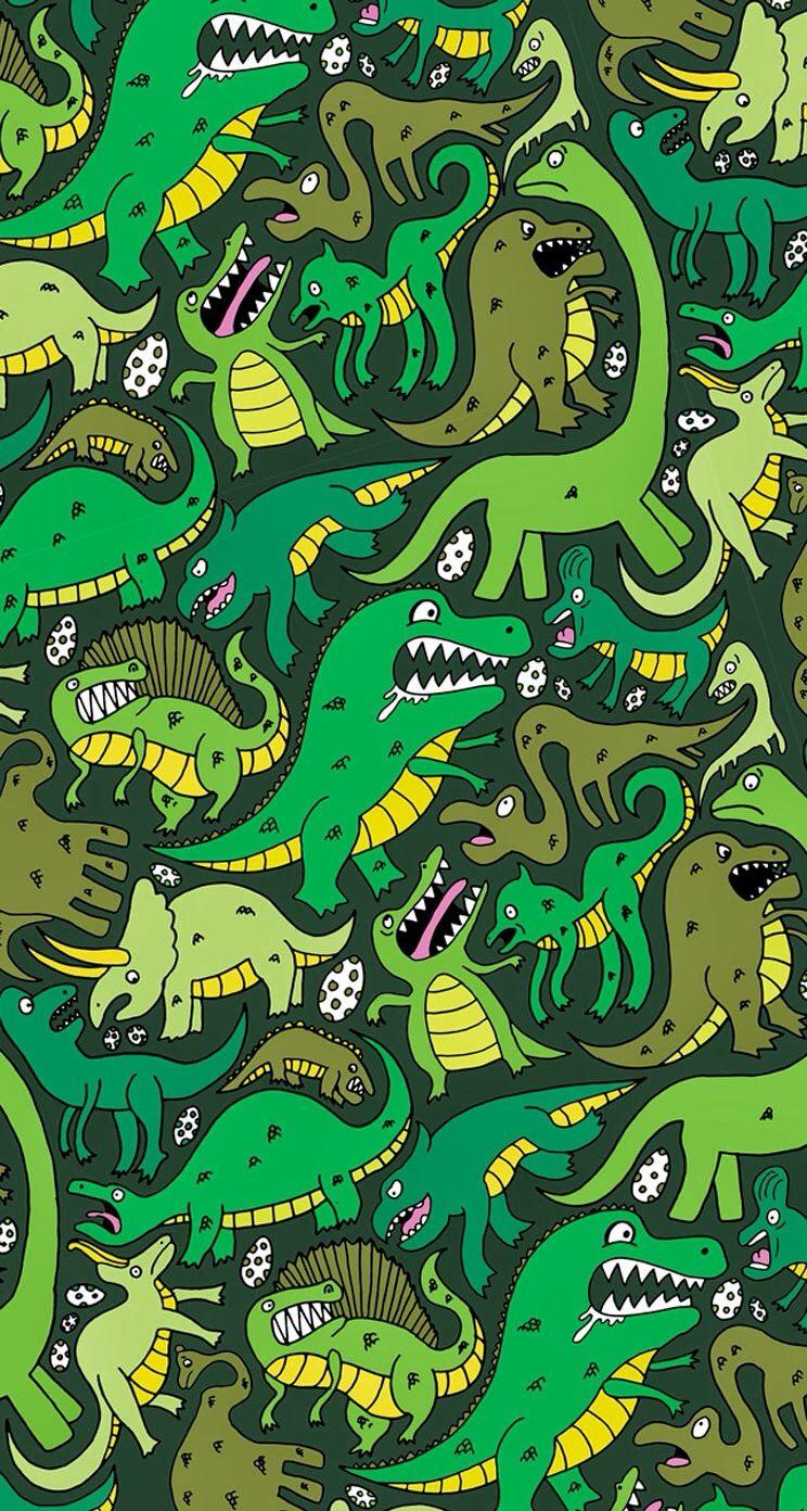 dinosaur phone wallpaper - photo #14