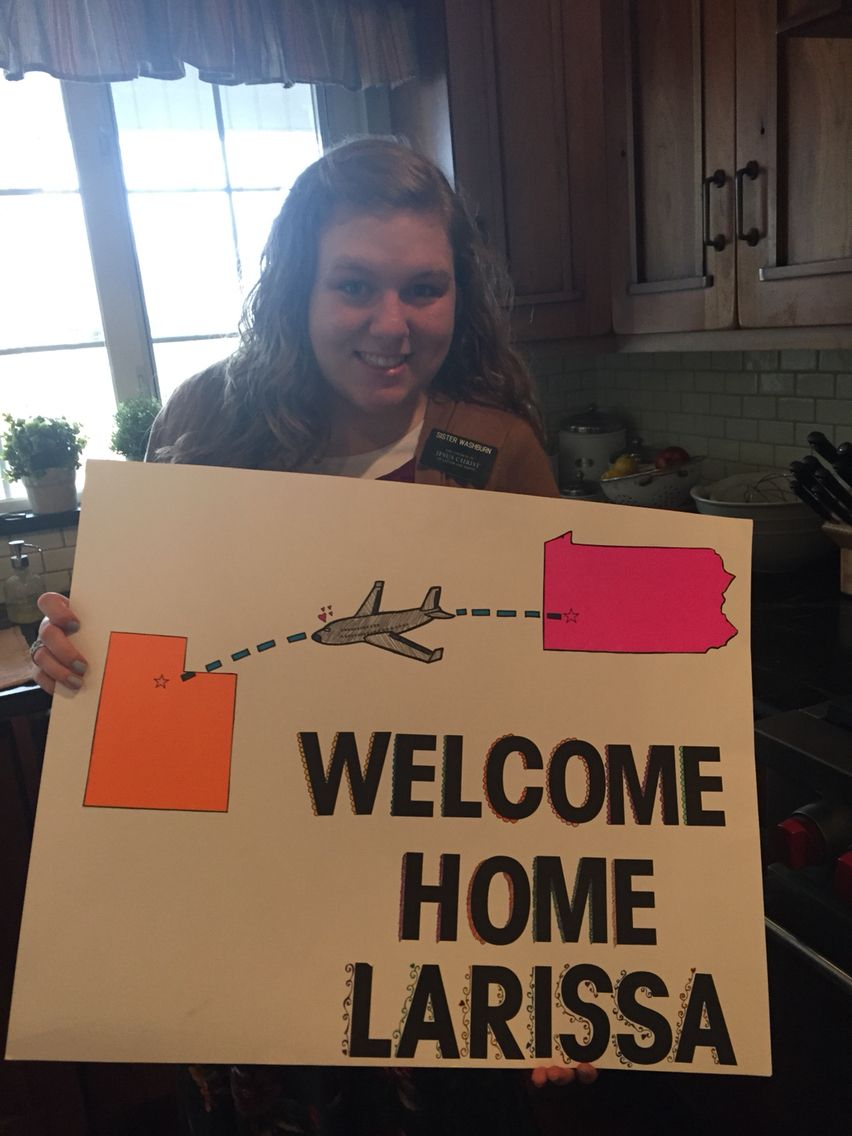 Missionary welcome home … | Projects to try | Welcome home