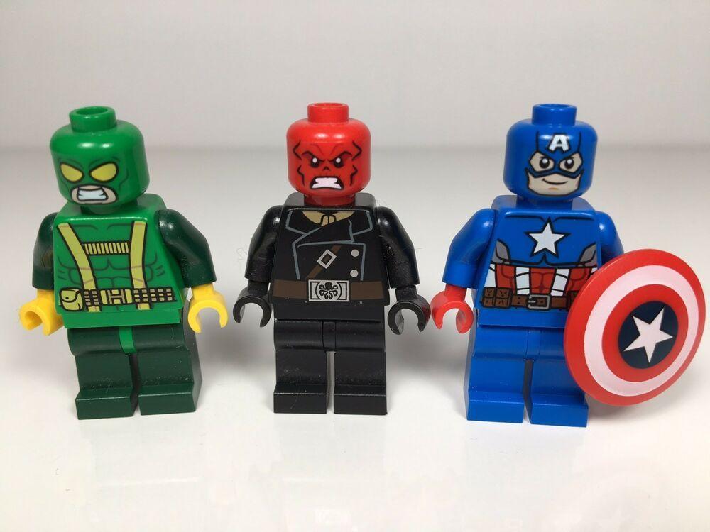 LEGO® Superheroes from 76017 Marvel Red Skull Minifigure