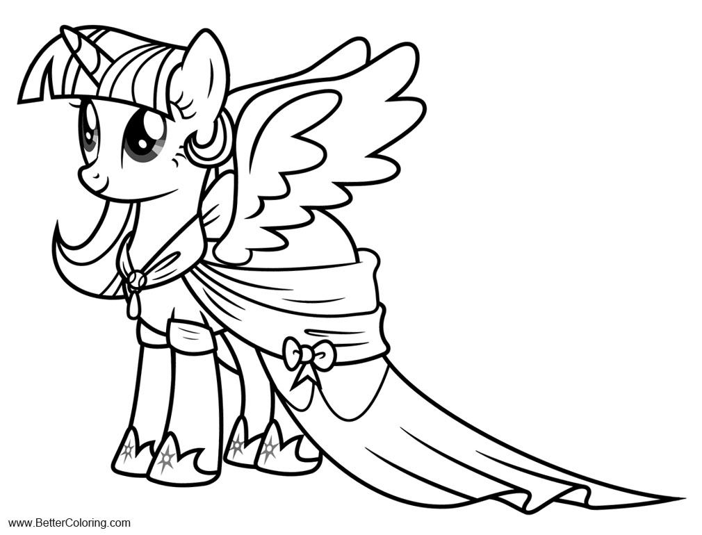My Little Pony Twilight Sparkle Alicorn Coloring Pages My Little Pony Coloring My Little Pony Twilight My Little Pony Pictures