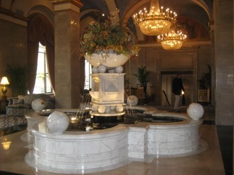 A Nearby Lobby of the Renaissance Hotel Cleveland