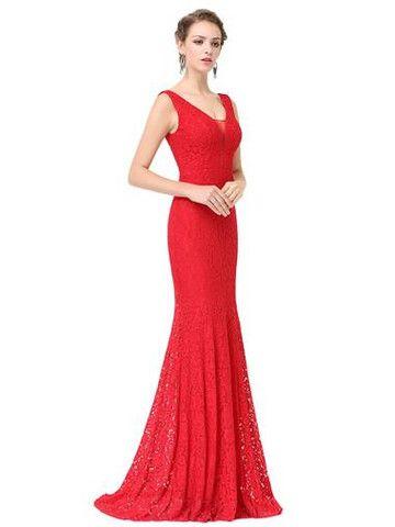 ELSPETH LACE Dress - Scarlet Red | vestido mama | Pinterest | Red ...