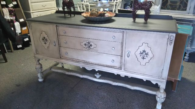 Sideboard Refinished Chalk Paint Stunning Tinted Waxes Wow