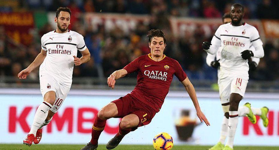 AC Milán vs AS Roma en vivo ver partido online y