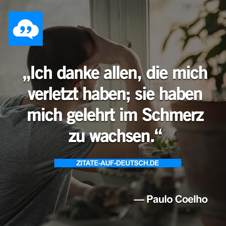 Danke Schmerz Spruch Sprüche Zitat Zitate