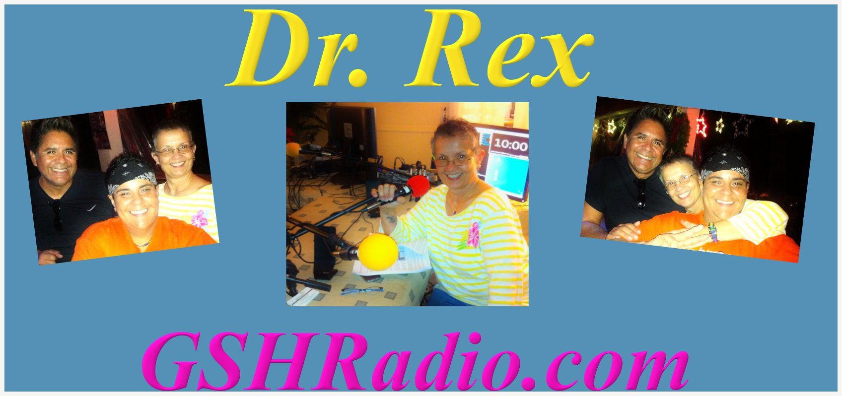 "Our Very Own Dr. Rex from ""Straight Talk"" on www.gshradio.com"