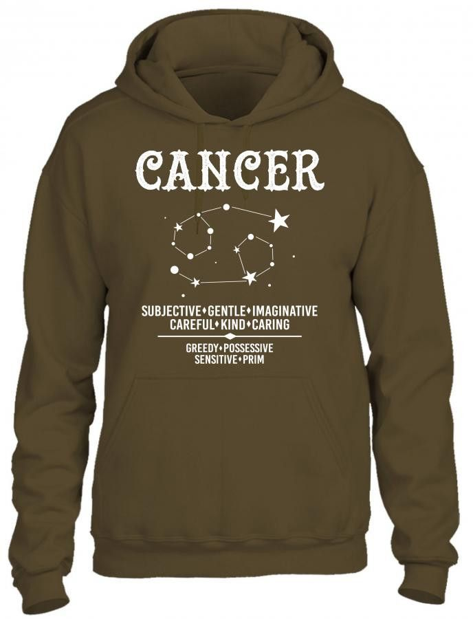 Cancer Zodiac Sign HOODIE