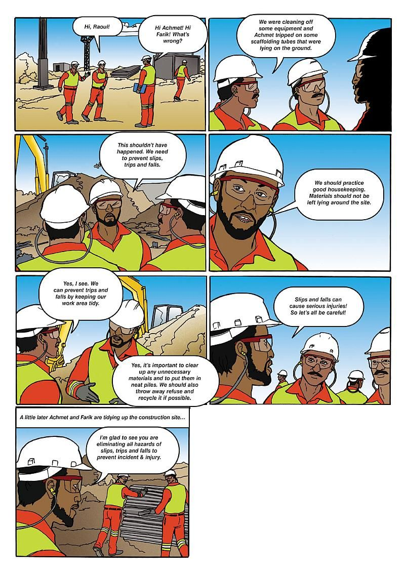Always Report Near Misses (With images) Safety cartoon