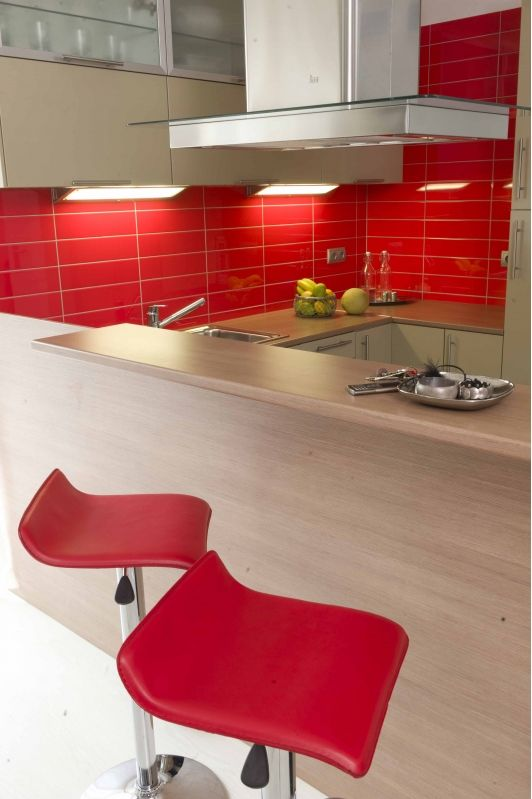 Red Kitchen Idea Trendy Kitchen Tile Red Kitchen Red Kitchen Accessories