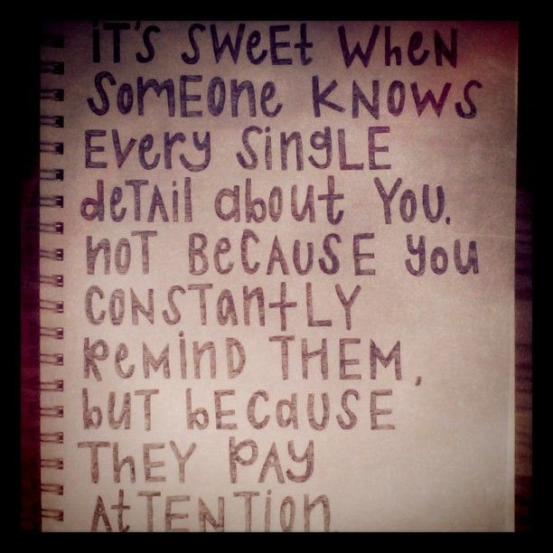 the people who pay attention <3