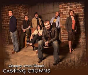 Casting Crowns... songs so meaningful, and they sing them from their hearts.