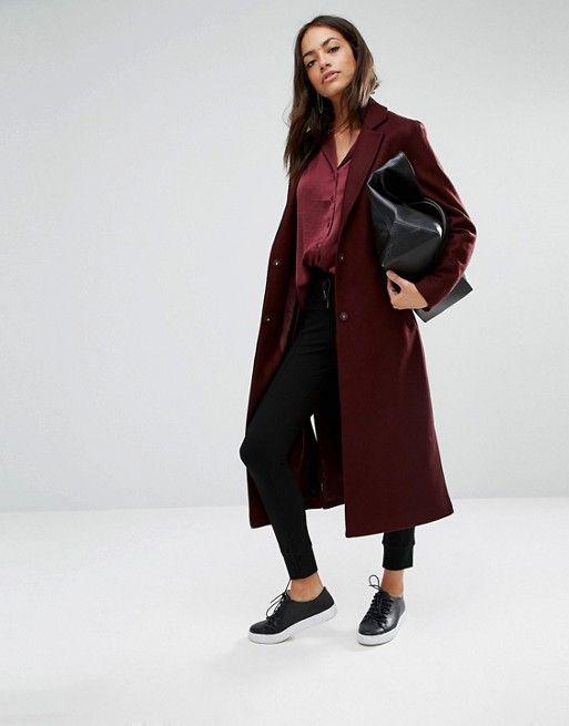 ed58d027d New Look   New Look Side Split Maxi Coat   wishlist.   Winter coats ...
