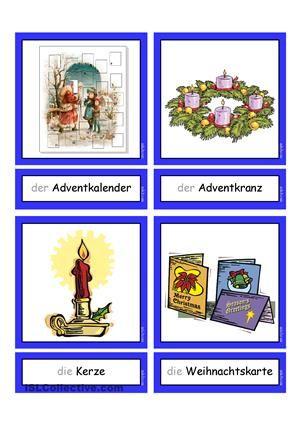 flashcards weihnachten 1 tabletts deutsch artikel. Black Bedroom Furniture Sets. Home Design Ideas