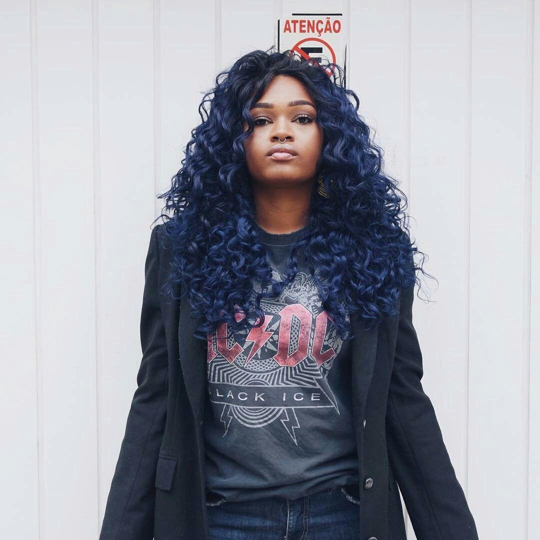 Joanateles hair pinterest blue hair and hair coloring