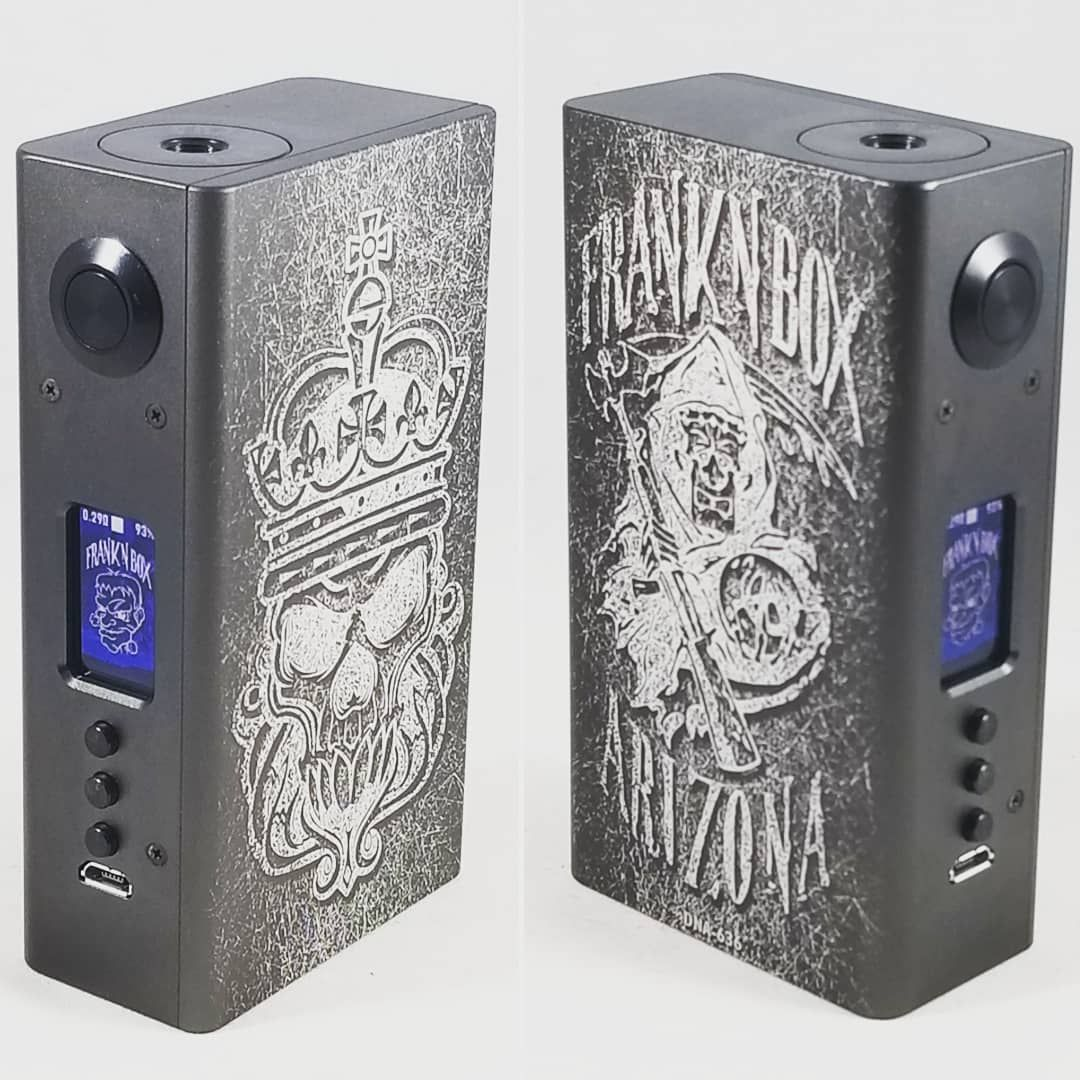 A mod fit for a king  DNA250c built by @franknbox #boxmod