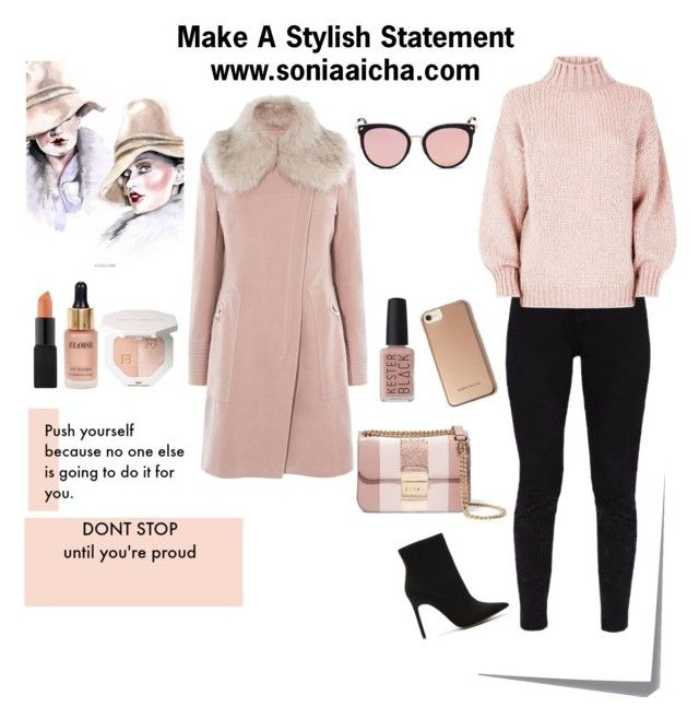 Stylish Statement by soniaaicha on Polyvore featuring polyvore, fashion, style, Karen Millen, Ted Baker, Express, MICHAEL Michael Kors, Stephane + Christian, Eloise, Kester Black, Post-It, clothing, StreetStyle, ootd, fashionblogger and fashionset
