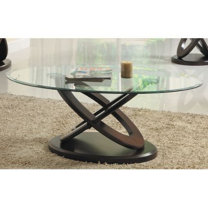 Glass Oval Coffee Table Glass Top Coffee Table Small Glass Side