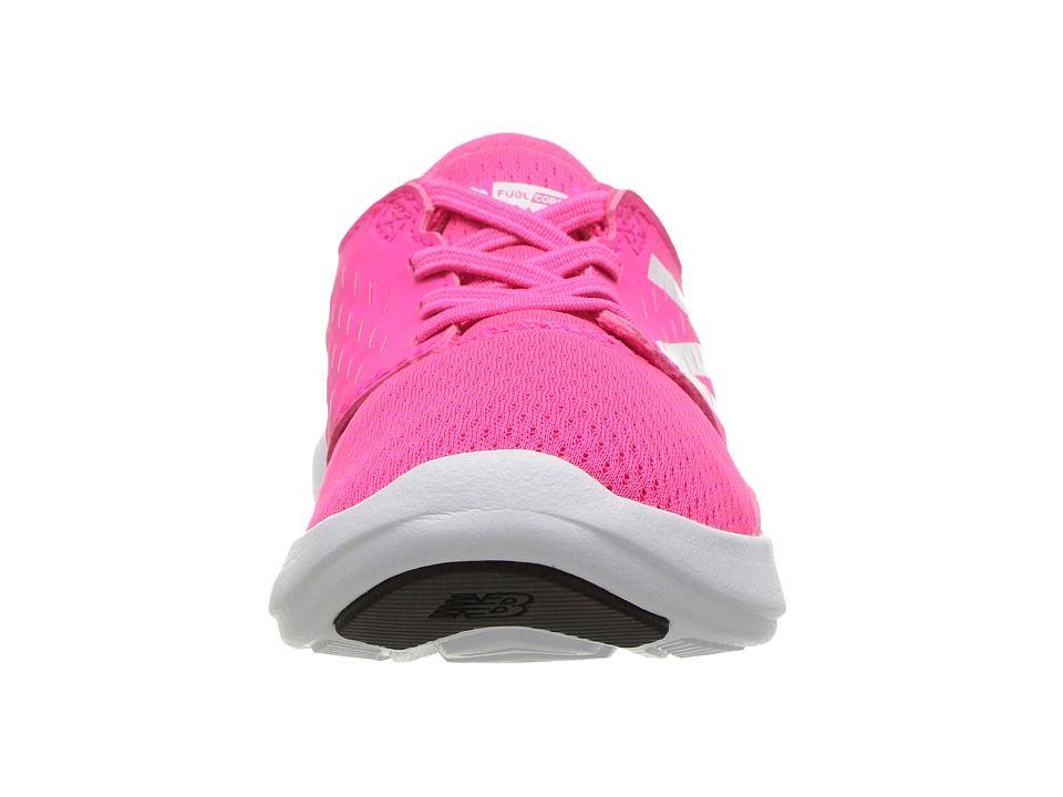 New Balance Kids FuelCore Coast v3 (Infant/Toddler) Girls Shoes Pink/White