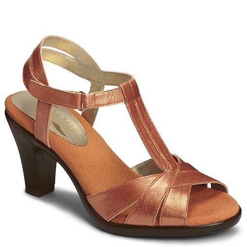 38b729bcf671 Aquarian T-Strap Heeled Sandal