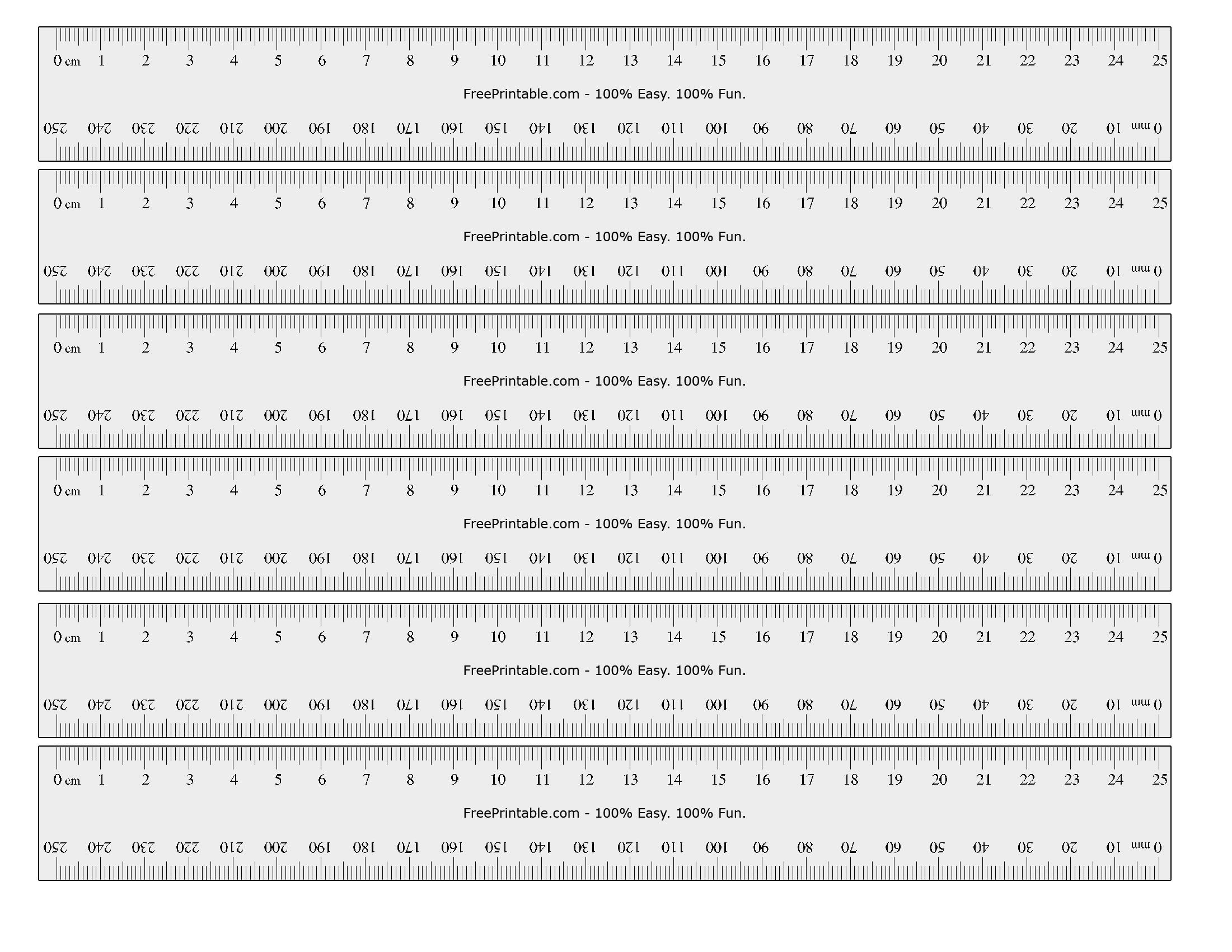 Printable ruler actual size inches ruler actual sizes user language fandeluxe Image collections