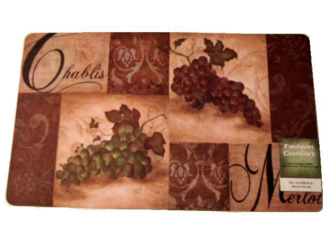Decorate your tuscan themed kitchen with this gorgeous wine and