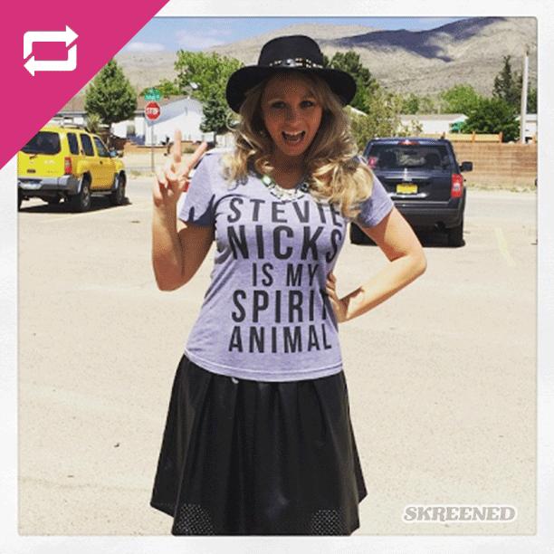 5efc54218 Pin by Skreened on You + #Skreened = <3 | Spirit animal, Stevie ...