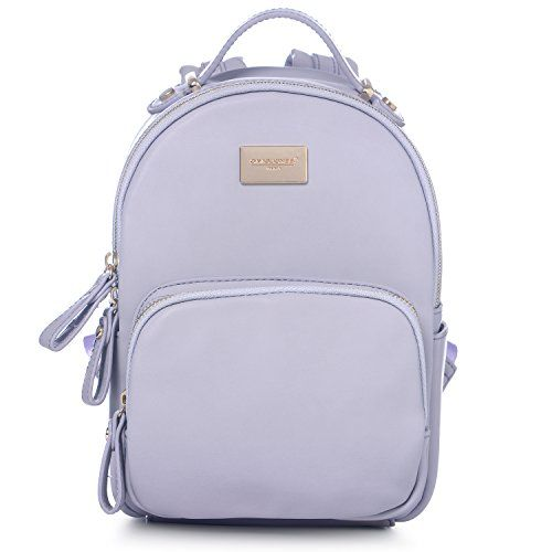 5d995b11e1 DAVIDJONES Synthetic Leather Small Mini Shoulder Bag Backpack    You can  find out more details at the link of the image. (This is an affiliate link)