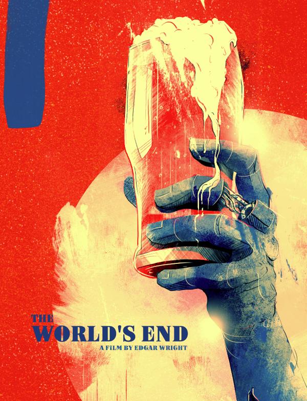 The World S End Alternative Poster On Behance End Of The World Poster On World