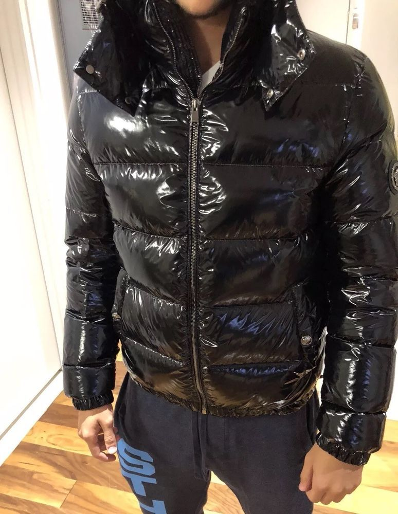 6216675c2 Men's Versace Winter Jacket Ultra Shiny !! | eBay | Things to Wear ...