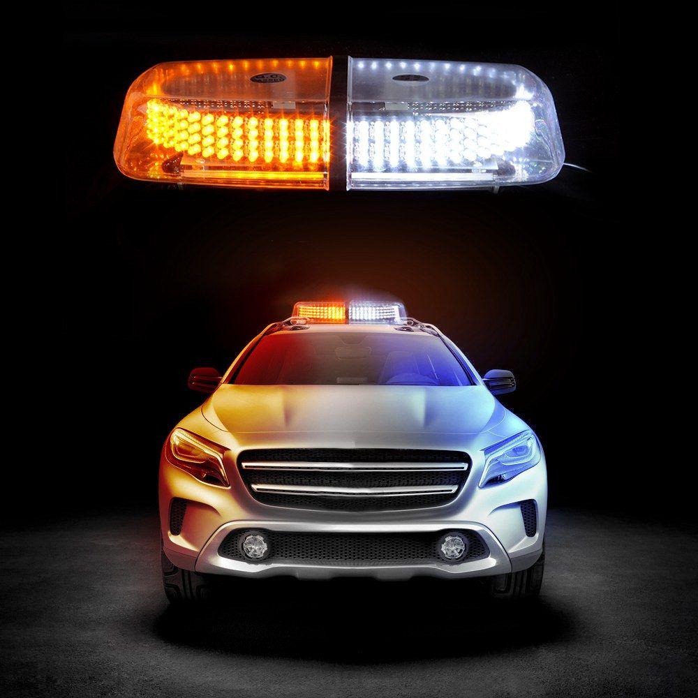 240 LED Light Bar Roof Top Emergency Beacon Warning Flash
