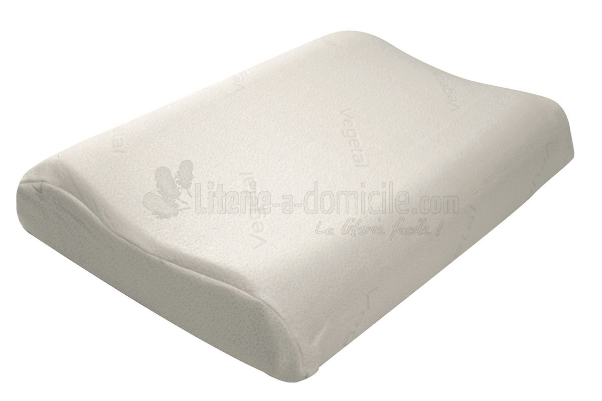 L'oreiller ergonomique PILO VEGETAL de DROUAULT