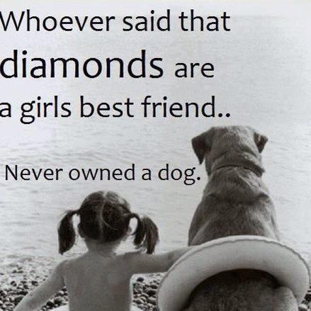 Whoever Said That Diamonds