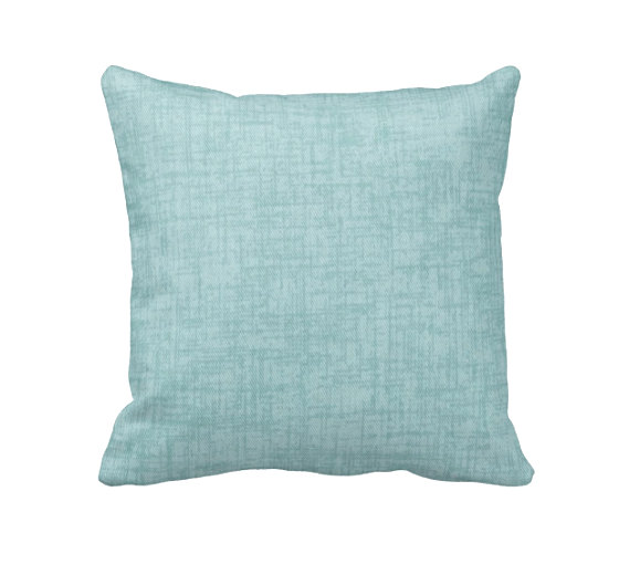 Awe Inspiring Light Blue Pillow Cover Solid Blue Pillows Blue Throw Inzonedesignstudio Interior Chair Design Inzonedesignstudiocom