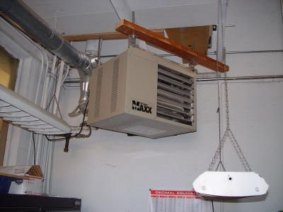 Mr Heater Big Maxx Natural Gas Garage Workshop Unit