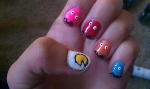 pacman nails :)