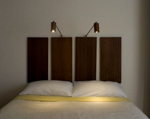 Mount Reading Lamp To The Bed For Modern Bedroom Bed Reading
