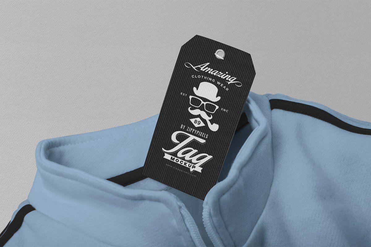 Download Customizable Price Tag Mockups Inner Shirts Label Design Price Tag