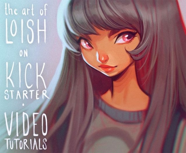 Only 24 Hours Left The Art Of Loish A Look Behind The Scenes By