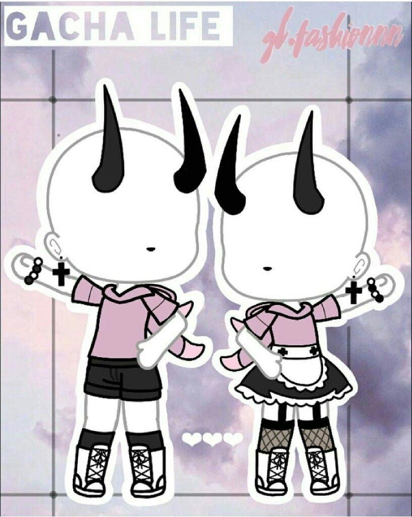 Gacha Life Cute Girl Outfits : gacha, outfits, Gacha, Outfits, @gl.fashion), Anime, Chibi,, Kawaii, Drawings,
