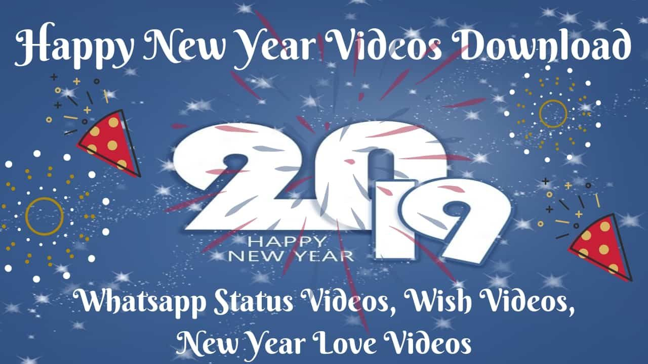 New Year 2019 Videos Happy New Year Gif New Year Gif New Year Wishes Video