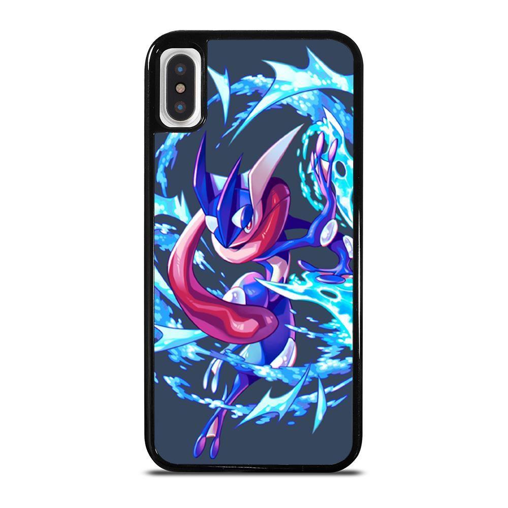 Greninja pokemon art iphone x xs case cover casesummer
