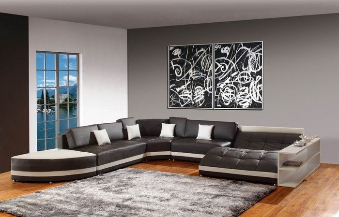 Wohnzimmer grau einrichten und dekorieren Einrichten und Wohnen - wohnzimmer grau modern