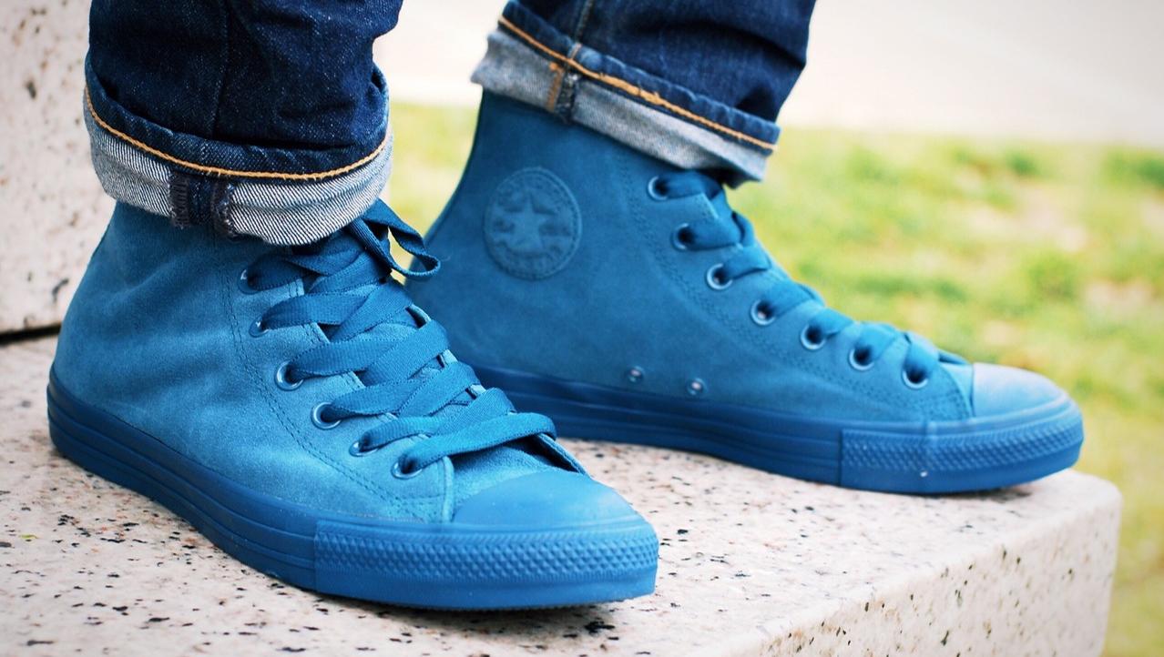 Converse Chuck Taylor All Star Hi Top Blue Fir | Converse