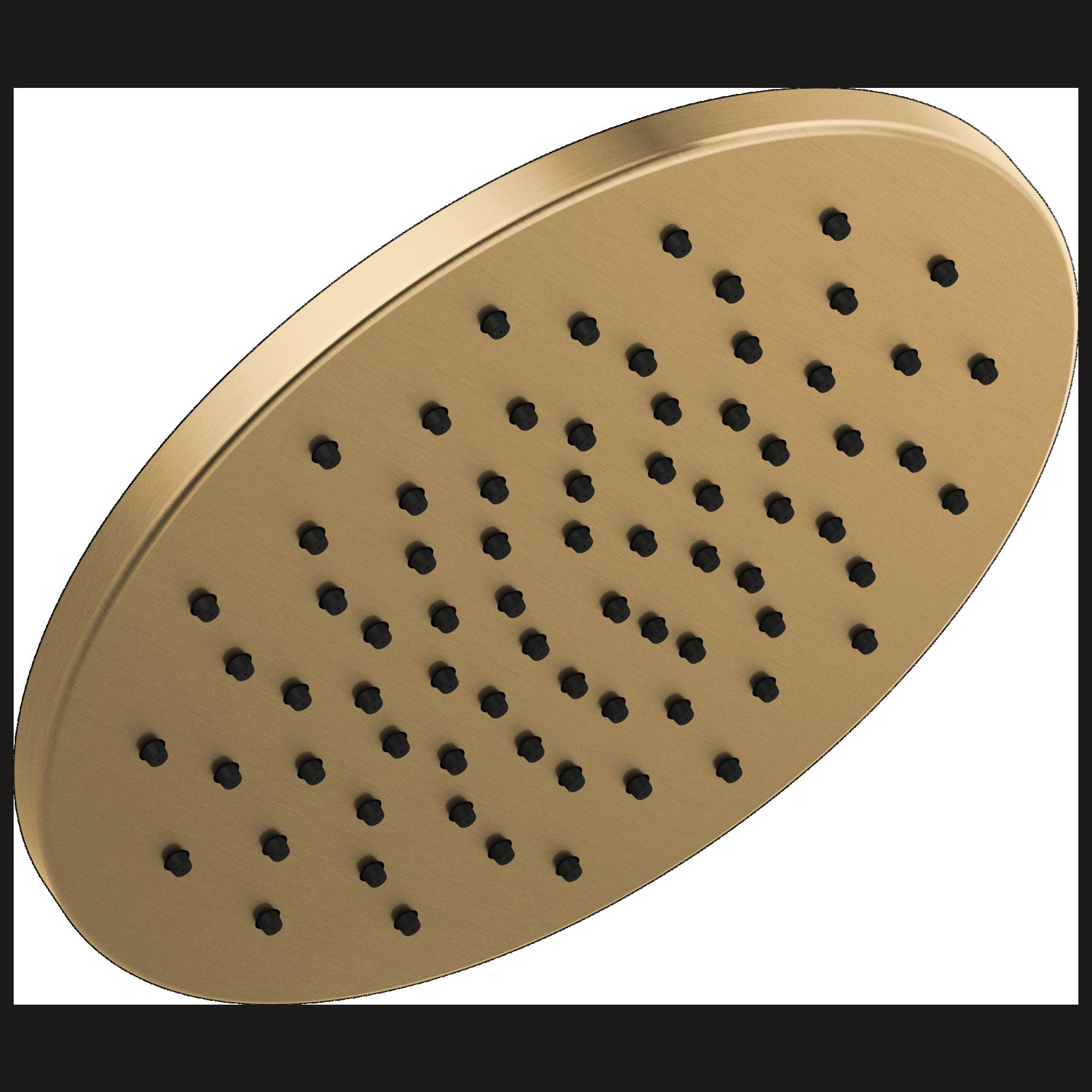 Delta Faucet 52158 Cz Single Setting Metal Raincan Shower Head