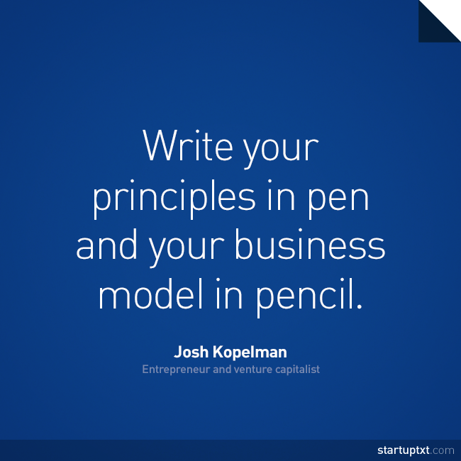how to write a business quote