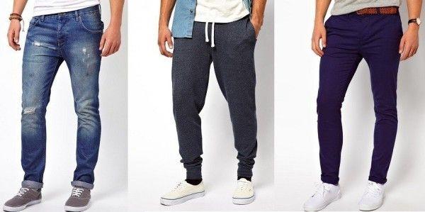 Pantalones y Jeans Hombre Tendencias