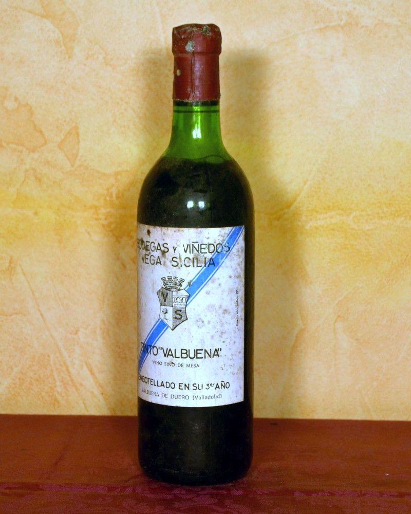 Vega Sicilia Tinto Valbuena 3º Año 1983 Do Ribera Del Duero Tuhistoria Es Vinos Y Quesos Vinos Botellas De Vino