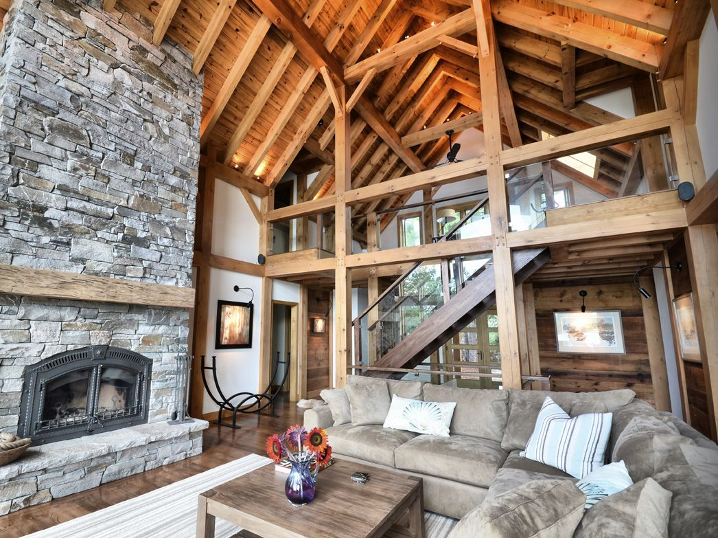 They Say That Beauty Lies In The Eyes Of The Beholder. At Normerica, We  Believe That The Beauty Of A Timber Frame Home Lies In The Exposed Posts,  Beams And ...