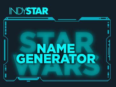 Star Wars Name Generator Star Wars Pinterest Star Wars Name
