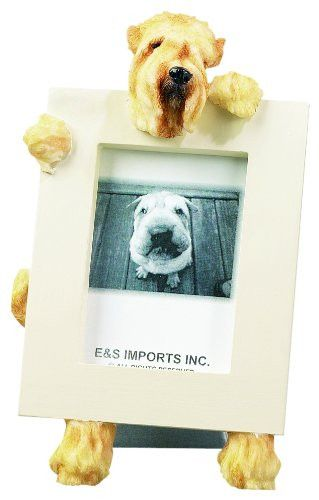 Soft Coated Wheaten Terrier Dog Picture Frame Holder | Dog picture ...